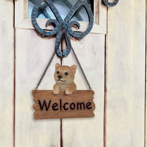 Resin Welcome Board