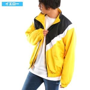 【予約販売】 【2019新作】 中綿V切替配色ジャケット 切り替え デュスポ ブルゾン