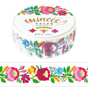 Nation Costume Washi Tape Flower Wrapping Decoration Washi Tape