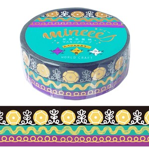 Nation Costume Washi Tape Wrapping Decoration SEAL Christmas