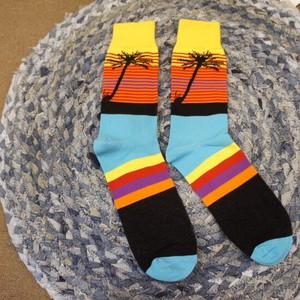 Sunset Beach Socks Colorful [2019NewItem]