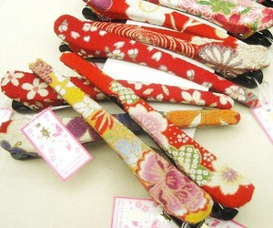 Japanese Pattern Hair Clip Assort