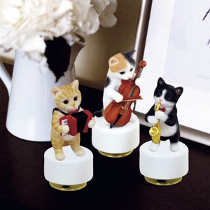 Resin Cat Music Box Cat Music Instrument