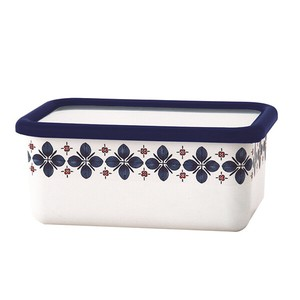 Fuji Enamel Deep Storage Container Navy