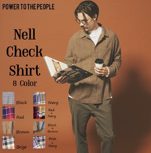 [2019NewItem] Checkered Shirt