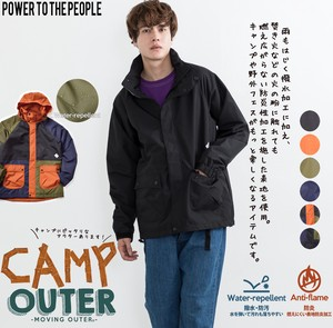 [2019NewItem] Flaming Fire Processing Material Camp Outerwear