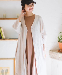 [2019NewItem] Single Gauze Shirt One-piece Dress