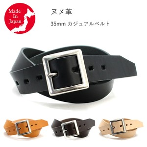 Casual Belt Tan Leather Men's Genuine Leather