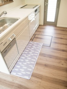 Kitchen Mat Material Scandinavia Water-Repellent Feeling Kitchen Mat