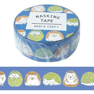 Washi Tape Wrapping Decoration Hedgehog Animal