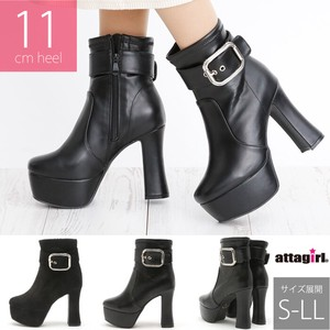 [2019NewItem] High Heel Belt Design Short Boots