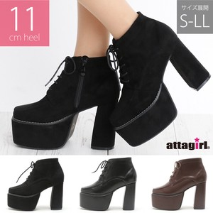 [2019NewItem] High Heel Lace Short Boots