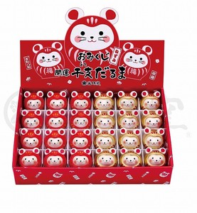 Better Fortune Zodiac Ornament Interior Good Luck Zodiac Daruma Display Set
