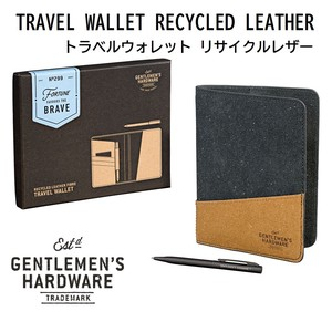 LED Travel Wallet Recycling Leather