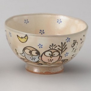 Everyday Bowl Owl Japanese Rice Bowl