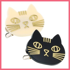 Cat Face Hair Clip Brooch