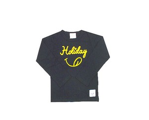 Kids Jersey Stretch Embroidery Long Sleeve T-shirt