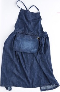 Denim Gather Apron [2019NewItem]