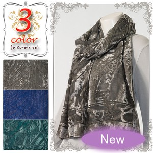 Material Velour Material Watermark Opal Larger Stole
