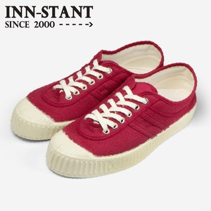 INN-STANT CANVAS SHOES-NEO #809 RED/RED(NATURAL SOLE)