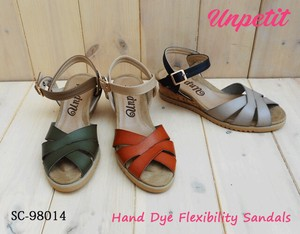 Dyeing Wedged Sandal Soft Cushion SC