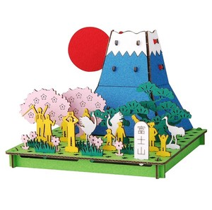 Line Mt. Fuji Cardboard Box Craft Kit
