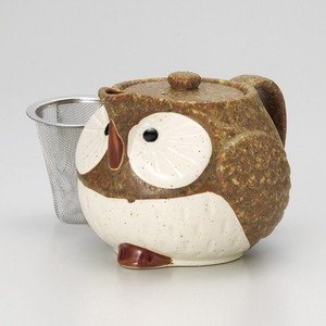 Owl Pot Japanese Tea Pot Full Water