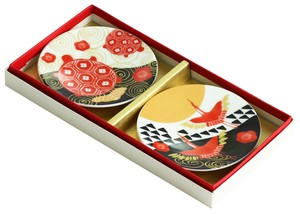 Mino Ware Gift Fortune Mini Dish Set