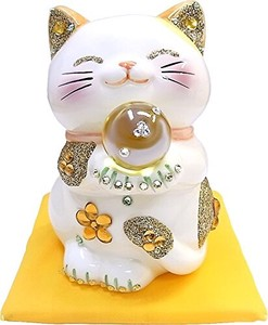 Ornament Feng Shui Happy Cat Beckoning cat