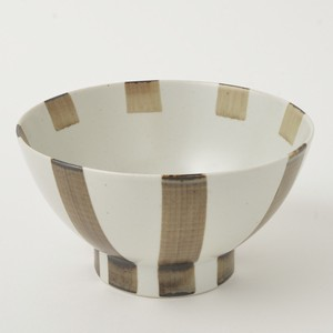 Donburi Bowl Tokusa Brown HASAMI Ware 400g