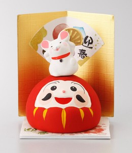 Better Fortune Zodiac Fortune Ornament Daruma Decoration