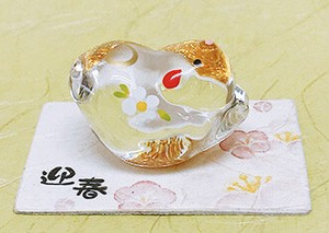 Better Fortune Zodiac Fortune Ornament Gold Decoration Glass Decoration