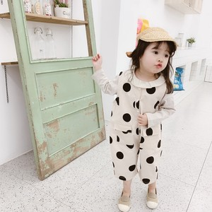 Children's Clothing Overall Dot Dot Overall Casual Korea