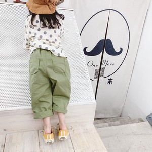Children's Clothing Khaki Pants Kids Chino Pants Casual Korea