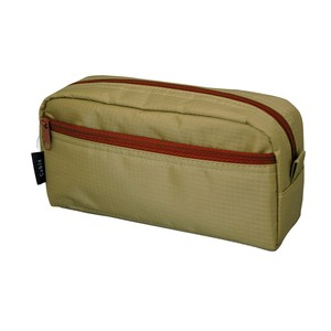 Outlet Pencil Case Box Brown