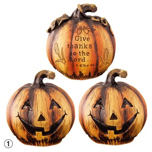 Pumpkin Objects Display Ornament