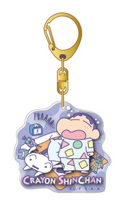 Crayon Shin Chan Layer Acrylic Key Ring Pajama