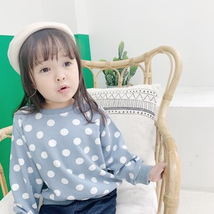 Children's Clothing Dot Sweatshirt Kids Casual Korea