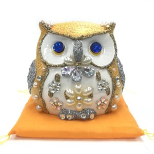 Ornament Gold Hit Stand Owl