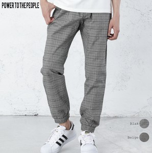 [2019NewItem] Checkered Pants