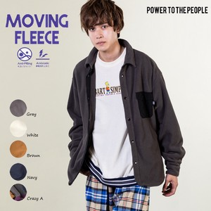 [2019NewItem] Electrical Prevention Effect Material Fleece Shirt Jacket