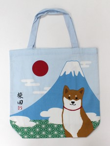 size Big Bag Bag Inside Pocket Attached Japan Shibatasan Blue