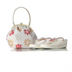 Japanese Sandals Hand Bag Set Japanese Clothing
