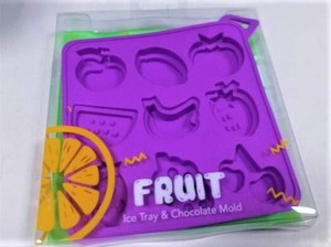 Silicone Ice Tray Fruit
