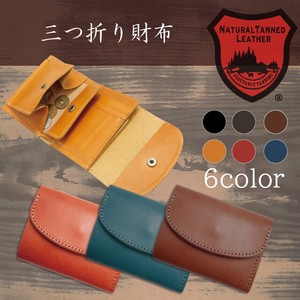 Tochigi Leather Series Trifold Wallet Cow Leather