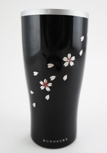 Tumbler Echizen Lacquerware Stainless Makie