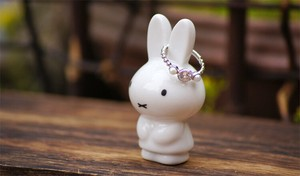 Miffy White Ring Pottery