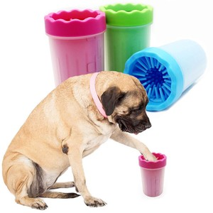 Pet Product for Dog Washing Cup Brush Cup Cleaner Walk