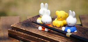 Miffy Solid Chopstick Rest Series
