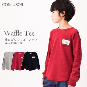 A/W Waffle Long T-shirt Children's Clothing Boys